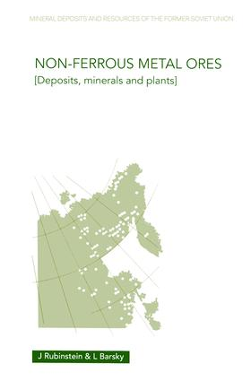 Non-Ferrous Metal Ores: Deposits, Minerals and Plants, 1st Edition (Hardback) book cover