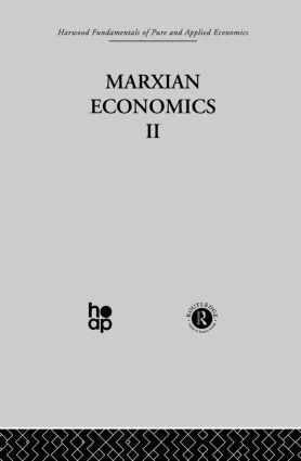 V: Marxian Economics II: 1st Edition (Hardback) book cover