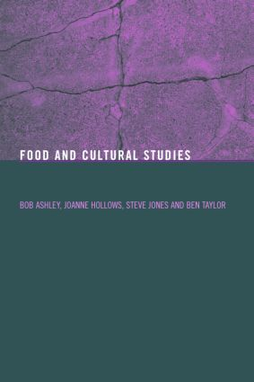 Food and Cultural Studies (Paperback) book cover