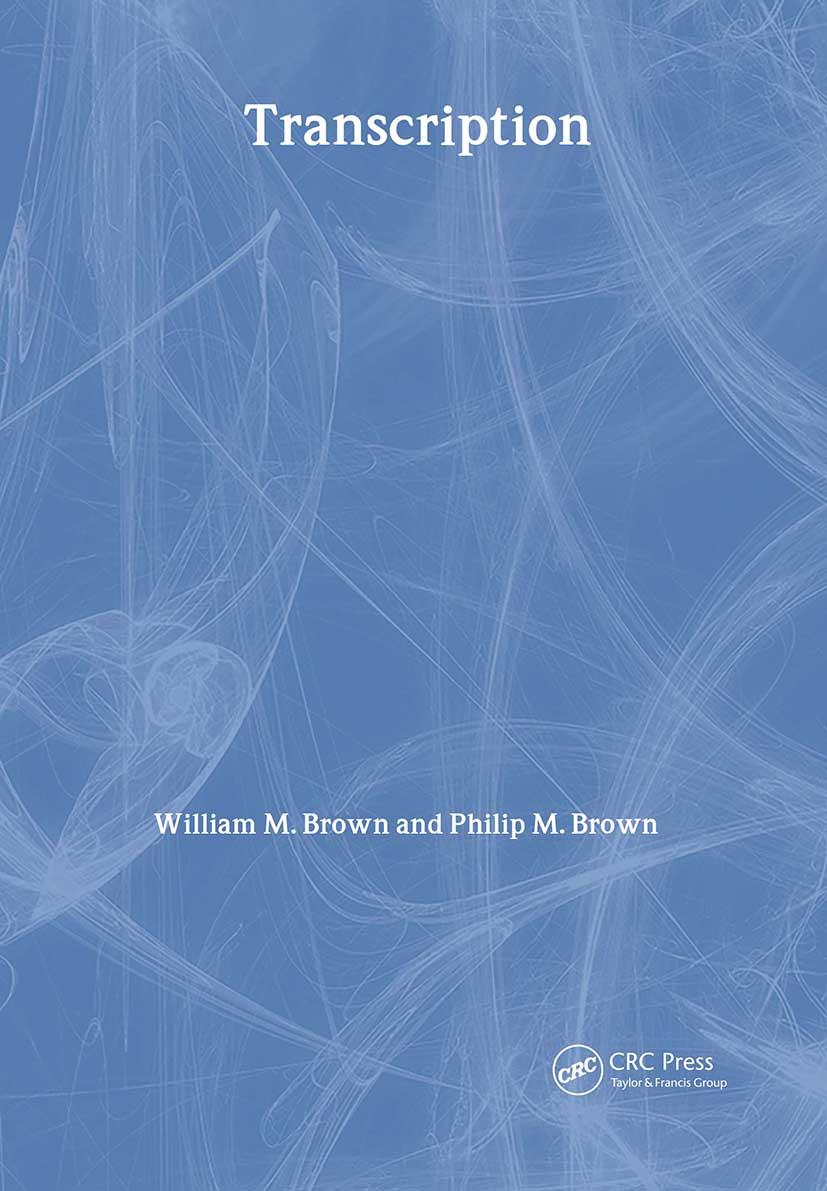 Transcription: 1st Edition (Paperback) book cover