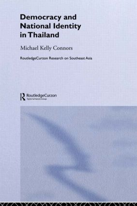 Democracy and National Identity in Thailand: 1st Edition (Hardback) book cover