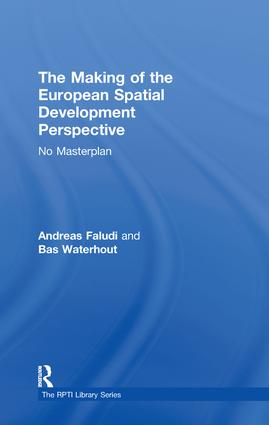The Making of the European Spatial Development Perspective: No Masterplan book cover