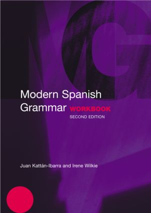Modern Spanish Grammar Workbook: 2nd Edition (Paperback) book cover