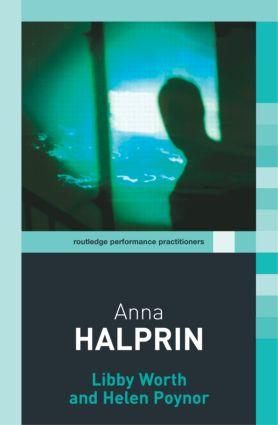 Anna Halprin (Paperback) book cover