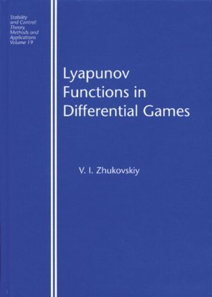 Lyapunov Functions in Differential Games: 1st Edition (Hardback) book cover