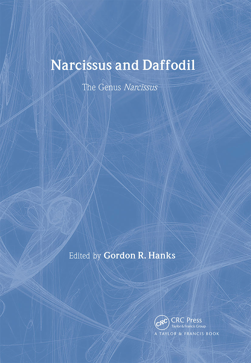 Narcissus and Daffodil: The Genus Narcissus book cover