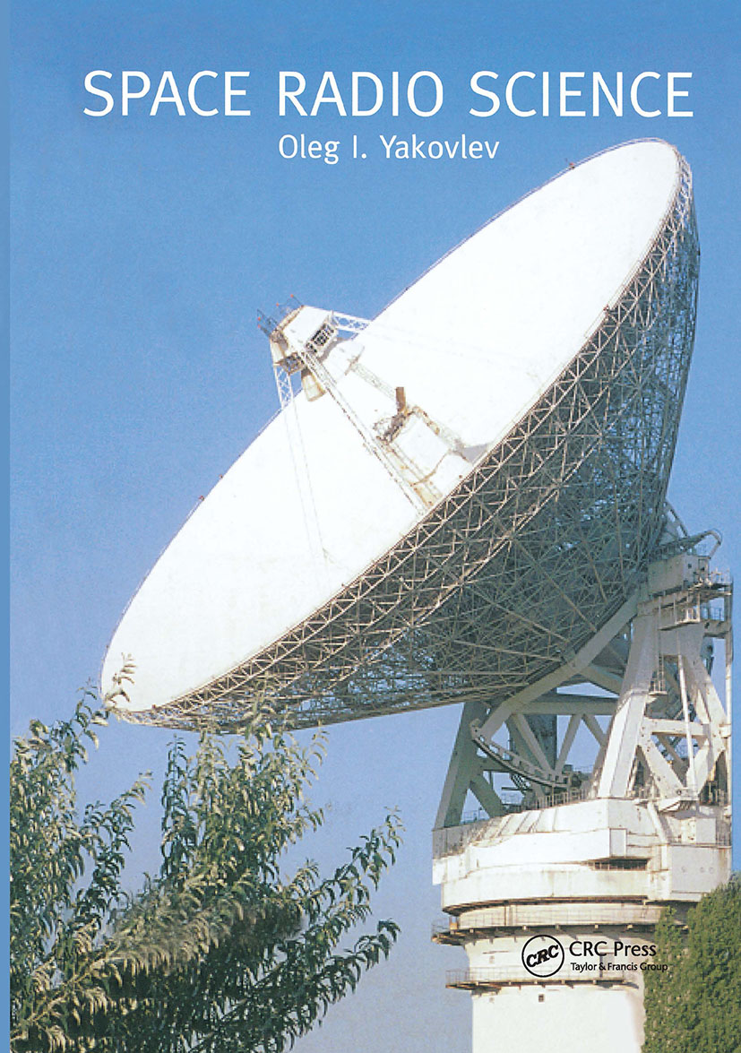 Space Radio Science: 1st Edition (Hardback) book cover