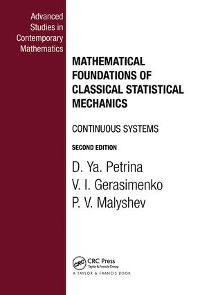 Mathematical Foundations of Classical Statistical Mechanics: 1st Edition (Hardback) book cover