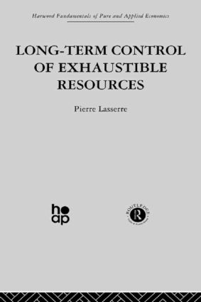 Long Term Control of Exhaustible Resources: 1st Edition (Hardback) book cover