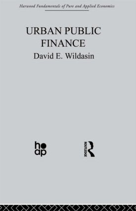 Urban Public Finance: 1st Edition (Hardback) book cover