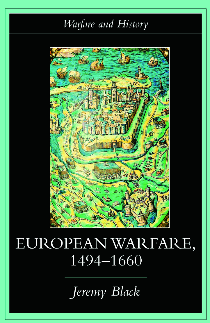European Warfare, 1494-1660 book cover