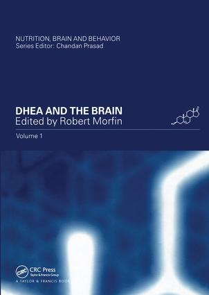 DHEA and the Brain: 1st Edition (Hardback) book cover