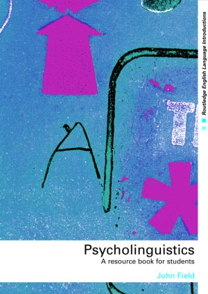Psycholinguistics: A Resource Book for Students (Paperback) book cover