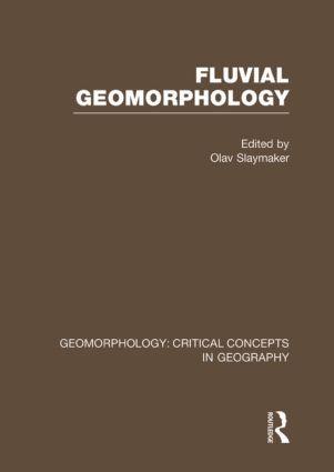 Fluv Geom: Geom Crit Conc Vol: 1st Edition (Hardback) book cover