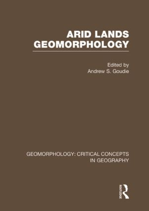Arid Land Geom: Geom Crit Conc: 1st Edition (Hardback) book cover