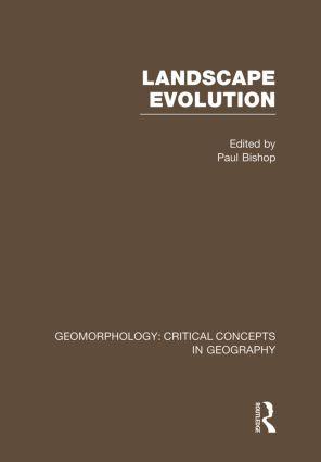 Land Evol:Geom Crit Con Vol 7: 1st Edition (Hardback) book cover