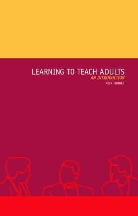 Learning to Teach Adults: An Introduction book cover