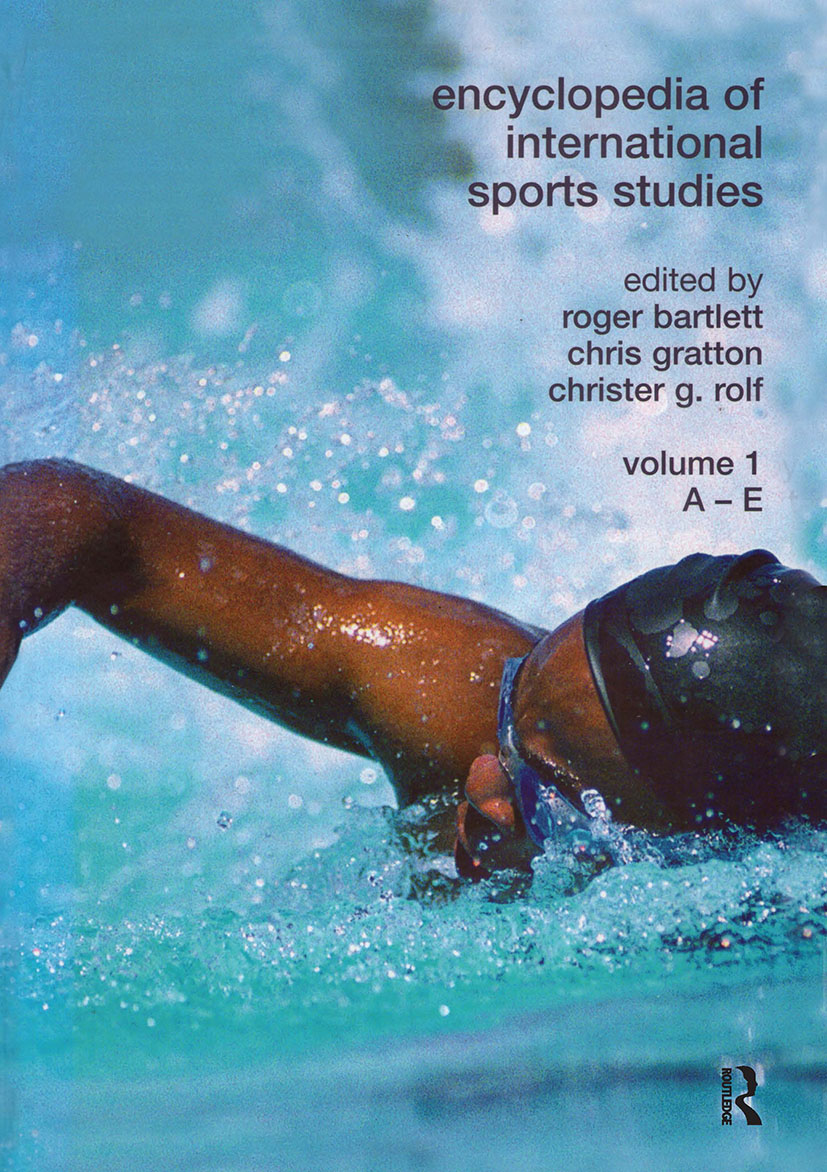 Encyclopedia of International Sports Studies: 1st Edition (Hardback) book cover