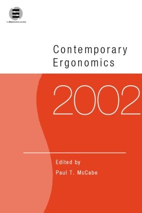 Contemporary Ergonomics 2002: 1st Edition (Paperback) book cover