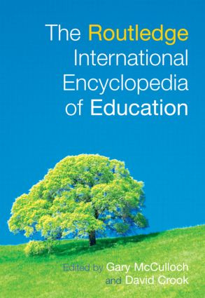 The Routledge International Encyclopedia of Education (Hardback) book cover