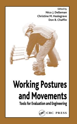 Working Postures and Movements: 1st Edition (Hardback) book cover