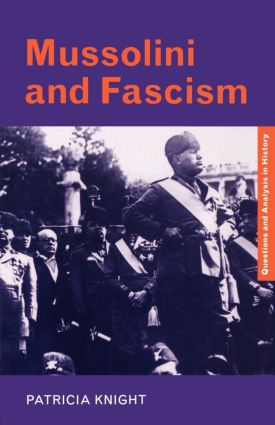 Mussolini and Fascism (e-Book) book cover