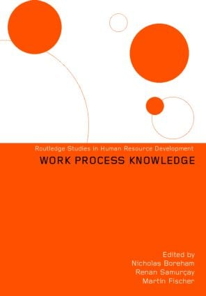 Work Process Knowledge (Hardback) book cover