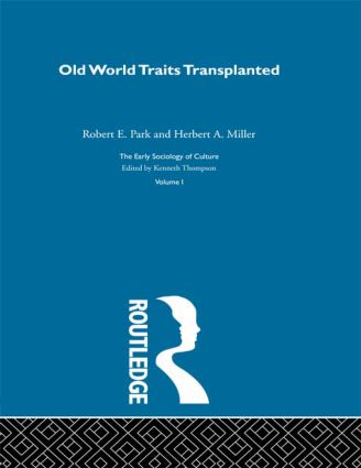 Old World Traits Transpl:Esc V: 1st Edition (Hardback) book cover