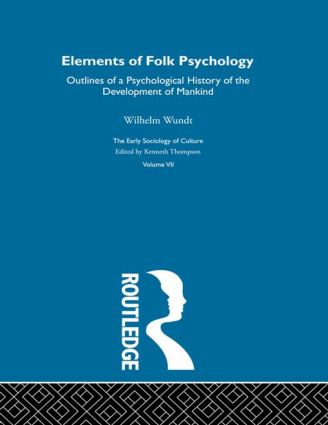Elem Folk Psyc:Esc V7 book cover