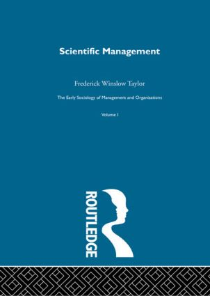 Scientific Management book cover