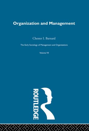 Organization and Management: Selected Papers book cover