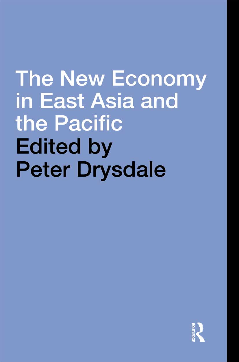 The New Economy in East Asia and the Pacific (Hardback) book cover