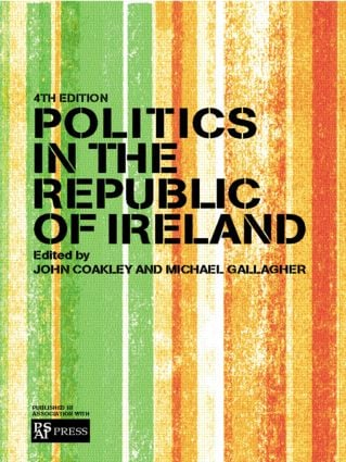 Politics in the Republic of Ireland book cover