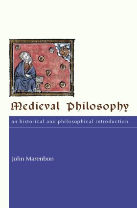 Medieval Philosophy: An Historical and Philosophical Introduction (Paperback) book cover