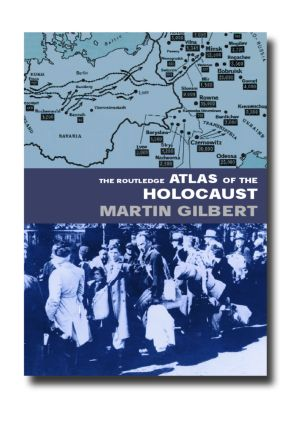 The Routledge Atlas of the Holocaust book cover