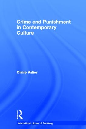 Crime and Punishment in Contemporary Culture book cover