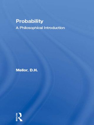 Probability: A Philosophical Introduction book cover