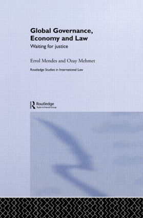 Global Governance, Economy and Law: Waiting for Justice book cover