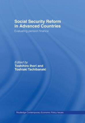 Social Security Reform in Advanced Countries: Evaluating Pension Finance (Hardback) book cover