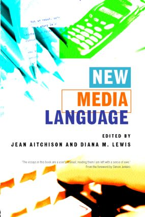 New Media Language (Paperback) book cover
