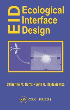 Ecological Interface Design (Hardback) book cover