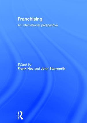Francine Lafontaine and Kathryn L. Shaw Franchising Growth and Franchisor Entry and Exit in the Us Market: Myth and Reality