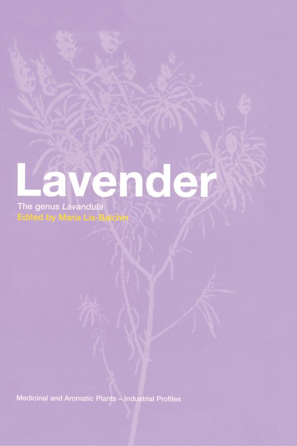Lavender: The Genus Lavandula book cover
