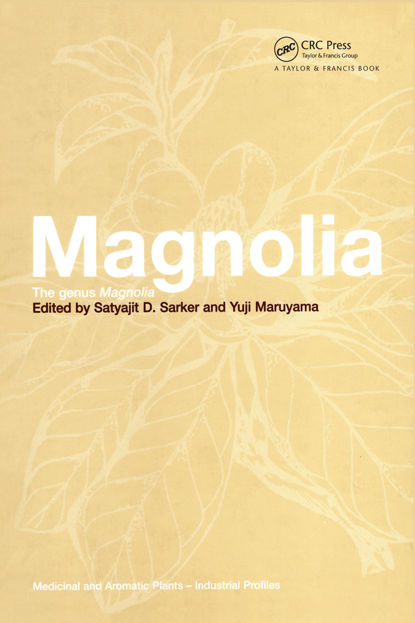 Magnolia: The Genus Magnolia, 1st Edition (Hardback) book cover
