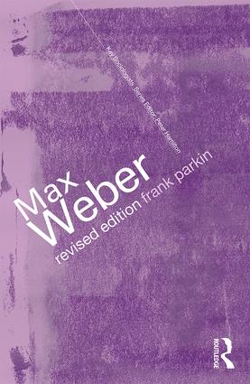 Max Weber: The Lawyer as Social Thinker (Paperback) book cover