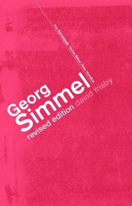 Georg Simmel book cover