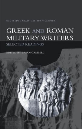 Greek and Roman Military Writers: Selected Readings book cover