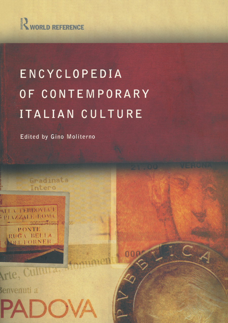 Encyclopedia of Contemporary Italian Culture (Paperback) book cover
