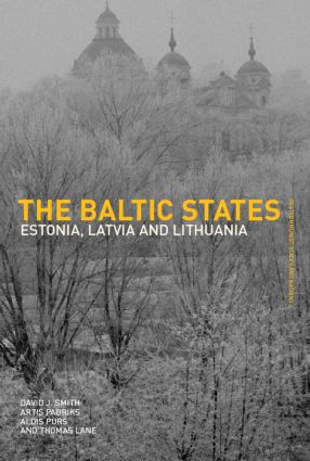 The Baltic States: Estonia, Latvia and Lithuania (Paperback) book cover