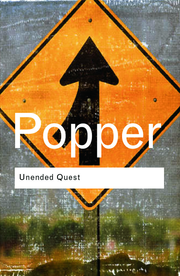 Unended Quest: An Intellectual Autobiography, 2nd Edition (Paperback) book cover